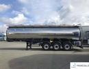 KÖGEL SFTA 24 - GRAPAR - 32.000 l / 3 komory 11.500 + 7.000 + 13.500 Lt - potravinářská cisterna