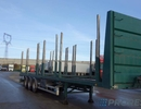 BSS METACO NV 35.28.24-STEU - klanicový návěs pro přepravu dřeva