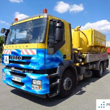 Iveco STRALIS ACTIVE DAY 260S36 Cisternový vůz