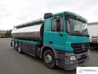 Mercedes-Benz ACTROS 2544 L 6X2 - Cisterna KOBIT 4 x 4200 Lt.