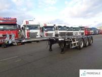 D-TEC FT - LS - S - kontejnerový roztahovací návěs 45