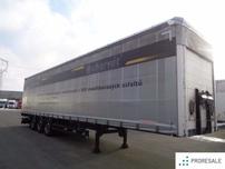 Schwarzmüller SPA 3/E - Mulda na přepravu svitků