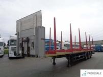 Schwarzmüller SPA 3/E PLATO - klanicový návěs na přepravu dřeva