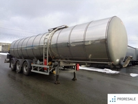 GENERAL TRAILER TRAILOR - cisterna pro přepravu asfaltu - 32 m3