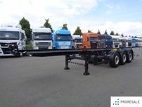 KÖGEL S 24-2 - podvozek určený k dostavbě potravinářské cisterny