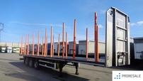 TRAILIS ZASLAW D-651 A - klanicový návěs pro přepravu dřeva
