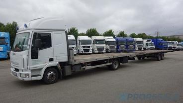 IVECO EUROCARGO ML 75E17 EURO 3 - prodejné jen s přívěsem P0337Z - cena je za celou soupravu