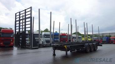 KÖGEL SN 24 STRONG - klanicový návěs pro přepravu dřeva - nástavba z roku 2020
