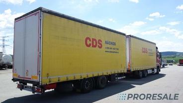 SVAN CHT 202-19,5 - prodejné jen s vozidlem MB ACTROS MB0218W - cena je za celou soupravu