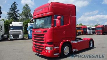 SCANIA R490 N320 TOP LINE EURO 6
