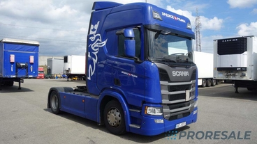SCANIA R410 N323 TOP LINE EURO 6