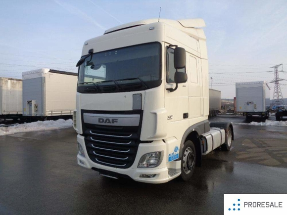 DAF XF 460 FT EURO 6  LOW DECK