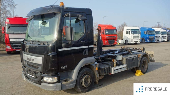 DAF LF 220 FA G12 EURO 6 - nosič kontejnerů FORNAL NKH 8T-390