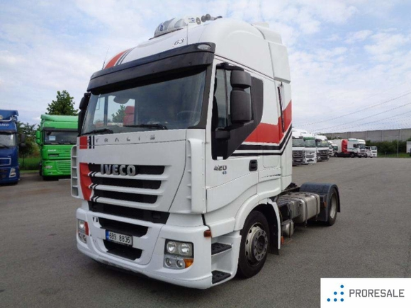 Iveco STRALIS AS 440S42 LOW DECK