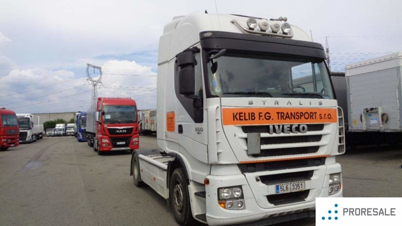 IVECO STRALIS AS 440S50 ACTIVE SPACE EURO5/EEV + HYDRAULIKA