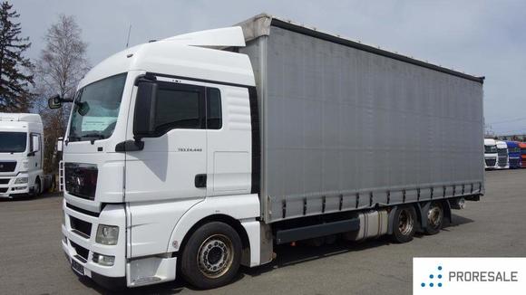 MAN TGX 24.440 6X2 EURO 5/EEV