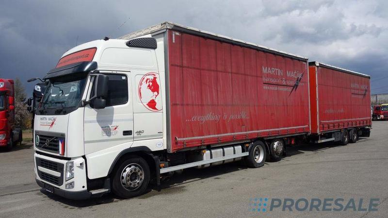 VOLVO FH 13.460 6x2 EURO 5/EEV - prodejné jen s přívěsem P0327Z - cena je za celou soupravu